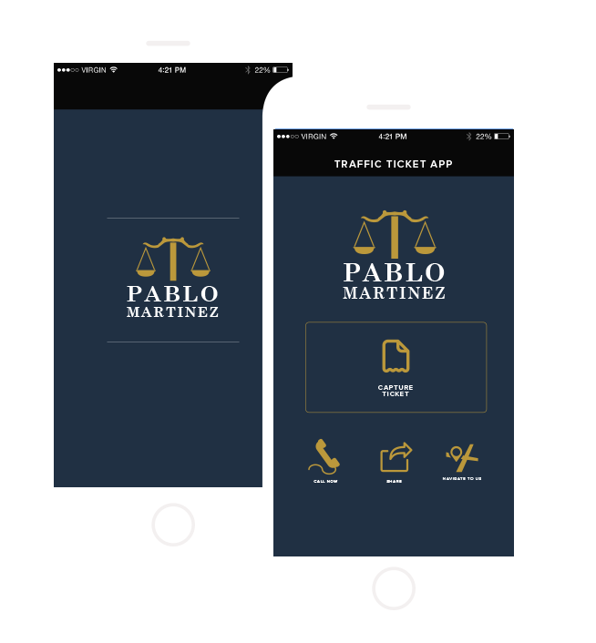 Pablo Martinez - Traffic Ticket App