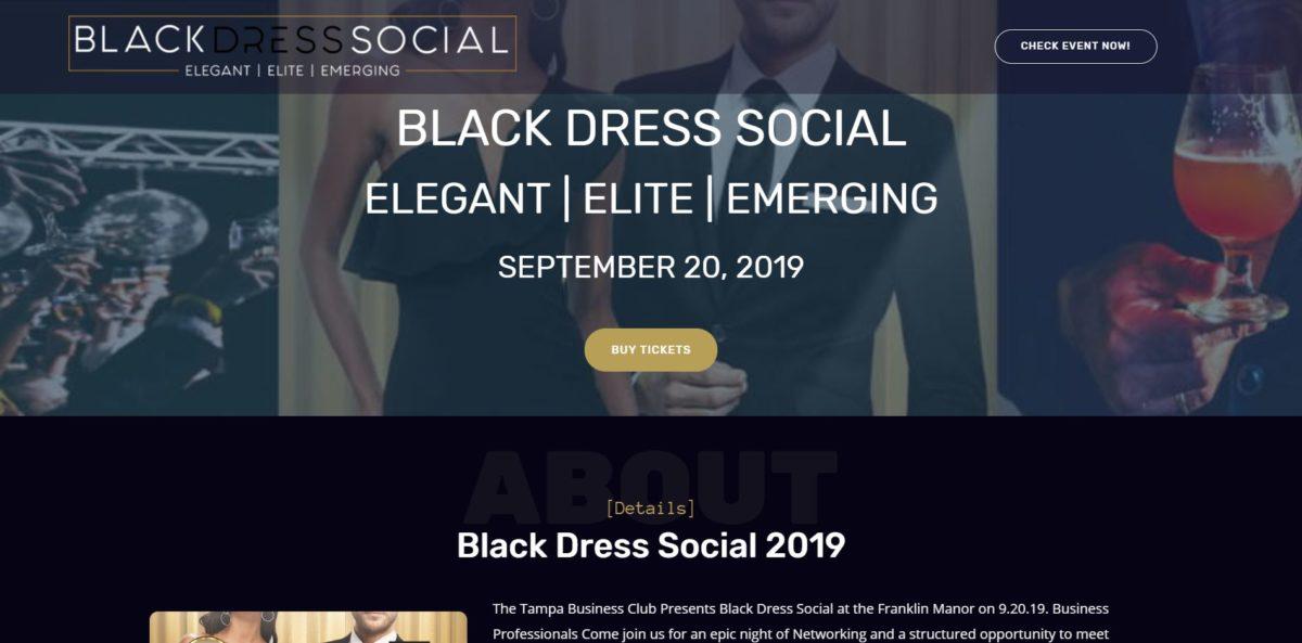Black Dress Social