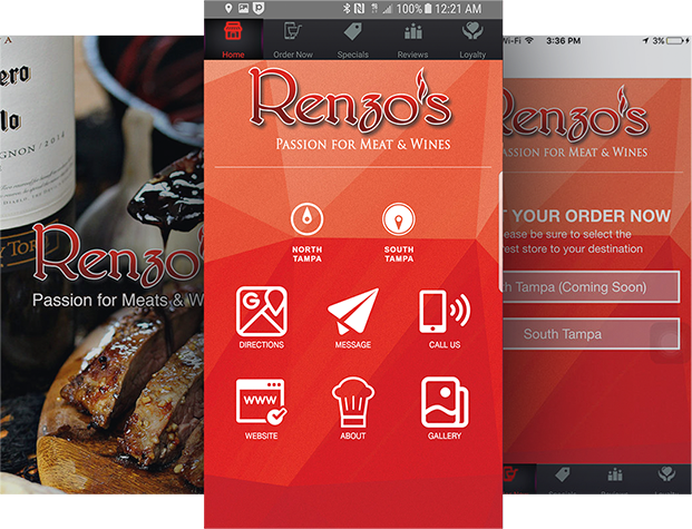 App For Restaurant - Renzos