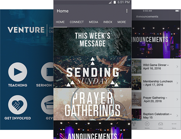 App For Church - Venture Church