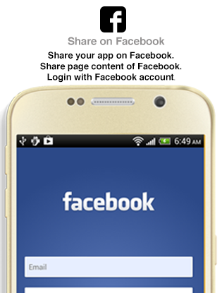 Mobile App – Facebook